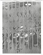 Ilse Bing Solarized Hats Paris 1934 / Silver Print / Printed 1988 / Signed