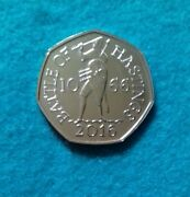 Rare 1066 Battle Of Hastings 50p Coin. Excellent Condition