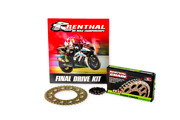 Triumph Tiger 800 Xc 2011-2014 Renthal R4 Chain And Sprocket Kit