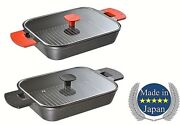 Aux Uchi Cook Cooking Steam Grill Pan With Glass Cover Japan Quality Best Buy