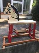 Safe-t-colt Ultra Rare Antique Riding Toy Must See