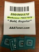 4 X Toner Chip 1525 - Sold For Xerox 550 560 570 Wc 7965 7975 Refill
