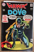 Dc The Hawk And The Dove 5 May, 1969 Silver Age Comic
