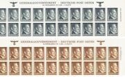 100 Genuine--100 Authentic Upper Sheet Of 20 X 10 And039and039
