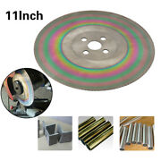 11 Inch High Speed Circular Saw Blade Cutting Disc Stainless Steel Hss Bore 32mm