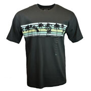 Menand039s Tee T Shirt Beach Hawaii Surf Sunset Cali Palm Trees Big And Tall Sizes New