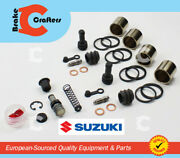 For 2008 Suzuki Sv 650 - Front Master Cylinder And Dual Front Caliper Piston Kit