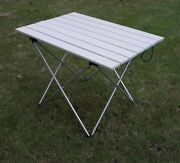 Portable Outdoor Folding Table Hiking Camping Picnic Furniture Countryside Metal