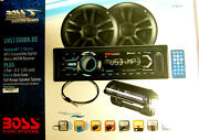 Boss Marine Audio Receiver With Speakers - Lns1308bk6s - 200w