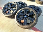22 Ford F-150 Expedition Limited Oem Black Rims Wheel 2017 2018 2019 2020 10064