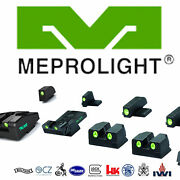 Meprolight Day And Night Sights For Glock Sig Sauer Sandw Jericho Walther Fn