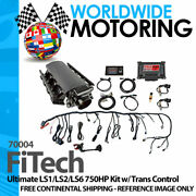 Ultimate Ls1/ls2/ls6 750hp Kit W/ Trans Control 70004 By Fitech