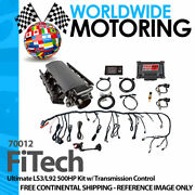 Ultimate Ls3/l92 500hp Kit W/ Transmission Control 70012 By Fitech