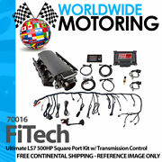Ultimate Ls7 500hp Square Port Kit W/ Transmission Control 70016 By Fitech