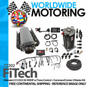 Ultimate Ls1/ls2/ls6 500hp W/ Trans Control + Command Center 2 - 72202 By Fitech