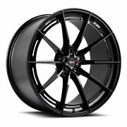 19 Savini Sv-f1 Black Forged Concave Wheels Rims Fits Cadillac Cts V Coupe