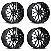 20 Savini Sv-f2 Forged Tinted Concave Wheels Rims Fits Audi A7 S7