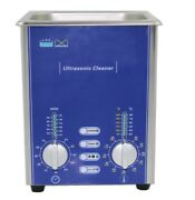 2l 80w Ultrasonic Tank Cleaner Degas Sweep With Basket For Jewelry Glasses Pcb