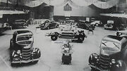 1935 Ford European Auto Expo Showroom 12 X 18 Black And White Picture
