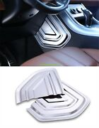 Abs Chrome Interior Dashboard Side Panel Cover For Range Rover Sport 2014-2018