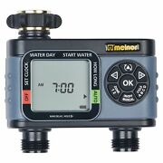 Automatic 2-zone Water Garden Lawn Timer New Ships Fast