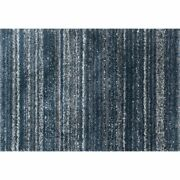 Loloi Quincy 8'10 X 12' Shag Rug In Navy And Pewter