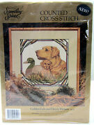 Something Special Golden Lab And Decoy Picture 50721 Counted Cross Stitch Kit