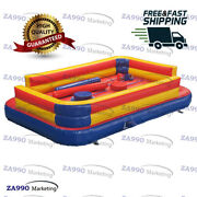 20x13ft Inflatable Jousting Sticks Gladiator Jousting Obstacle Course Sport Game