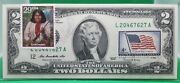 Us 2 Dollars 2009 Gem Unc Legends Of The West Geronimo Lucky Money 125