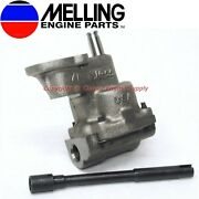 New Melling Hp Oil Pump And Shaft Some Chevy V6 And V8 400 350 327 307 305 283 267