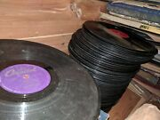 350+ Lot Of Vintage 78 Rpm Records And Cedar Chest, Assorted Artists
