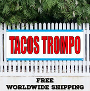 Tacos Trompo Advertising Vinyl Banner Flag Sign Mexican Food Burrito Many Sizes