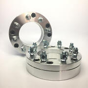 2x Wheel Spacers Adapters ¦ 5x6.5 To 8x6.5 5x165.1 To 8x165.1 | 50mm 2 Thick