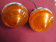 Lucas L691 L692 Amber Lamp Pair Austin-healey Land Rover Spitfire Cobra Used