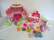 My Little Pony Sweet Shoppe And Tree House- Breezies Ponies Accessories Lot