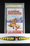 Savage Wolverine 6 Cbcs 9.8 - 1-of-a-kind Wolverine Sketch By Phillip Sevy