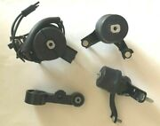 4pc Engine And Transmission Mount With Sensor 2007-2011 Toyota Camry 3.5l