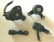 4pc Motor Mount With Front Sensor For 2007-2011 Toyota Camry 3.5l Fast Ree Ship