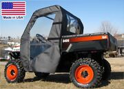 Doors And Rear Window For Bobcat 3400 - Soft Material - Withstands Highway Speeds