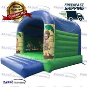 13x10ft Inflatable Bounce House Bouncy Castle With Air Blower