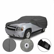 [cct] 5 Layer Semi-custom Fit Full Suv Cover For Hummer H1 H2 H3 [1992-2010]
