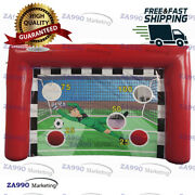 13x6.6ft Commercial Inflatable Football Soccer Toss Sport Game With Air Blower