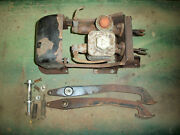 Mgb Original Brake And Clutch Pedal Box Assembly With Cover From A 1967 Mgb