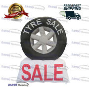 10ft Inflatable Advertising Wheel Car Tire Promotion With Air Blower