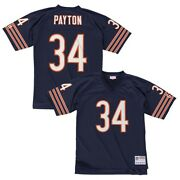 Walter Payton 1985 Chicago Bears Mitchell And Ness Home Navy Legacy Jersey Menand039s