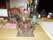 Texas Themed Antique Vintage Cast Iron Light Unfinished Barn Find Spurand039s