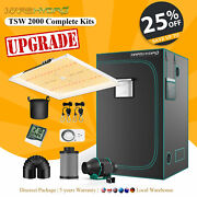 Mars Hydro Complete Kit Led Grow Light Full Spectrum Fan Carbon Filter Grow Tent
