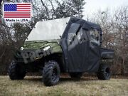 Full Enclosure For Ranger Crew - Hard Windshield, Roof, Doors, And Rear Window