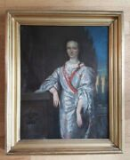 Vintage - Very Nice 19th Century Framed Oil On Canvas Painting French