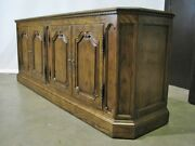 Vintage Baker Furniture French Country Oak Buffet Exceptional Condition